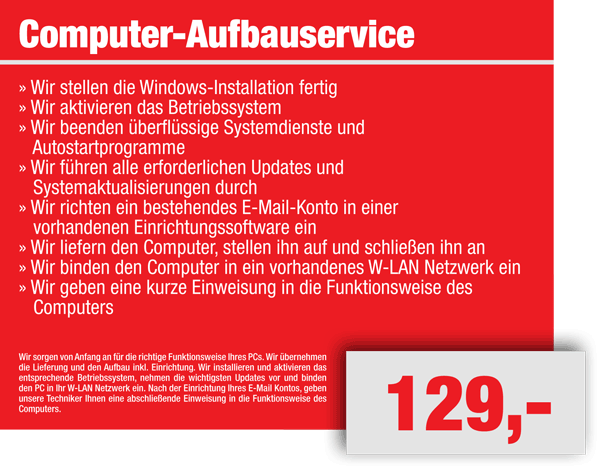 Einrichtungssoftware  IT SERVICECENTER - HEINZSOFT